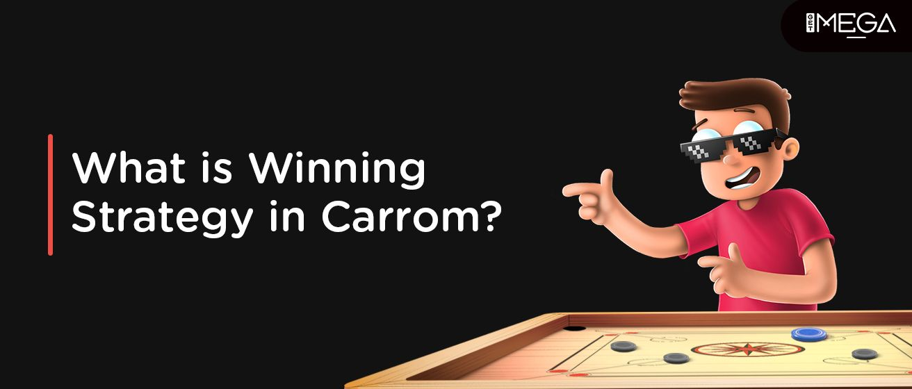 Winning Strategy In The Carrom Game