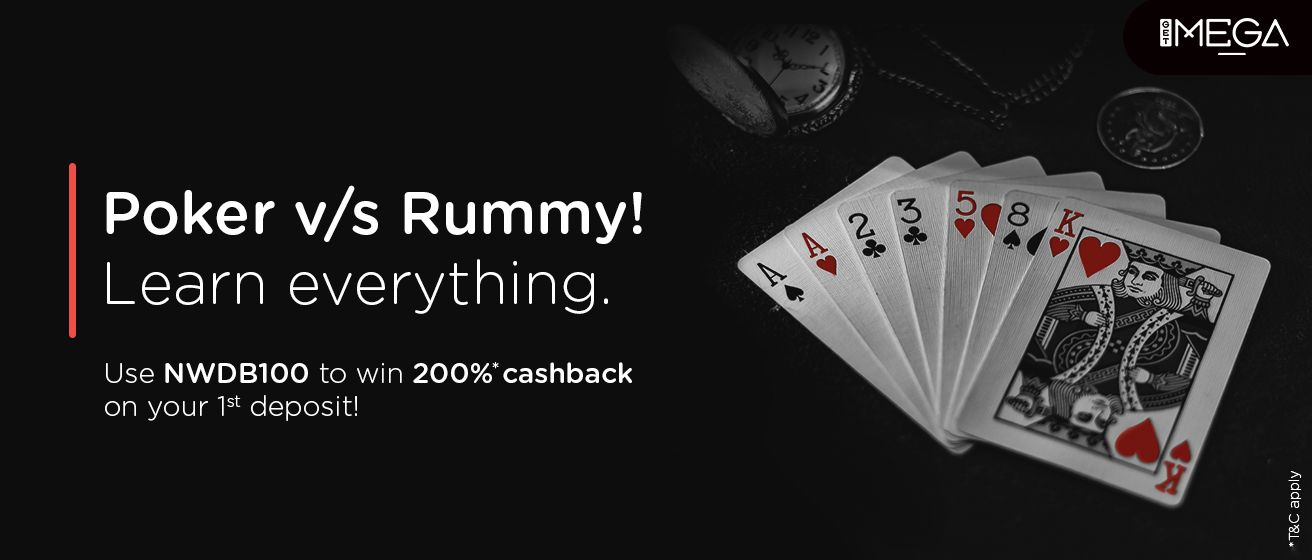 Poker & Rummy: All You Need To Know!